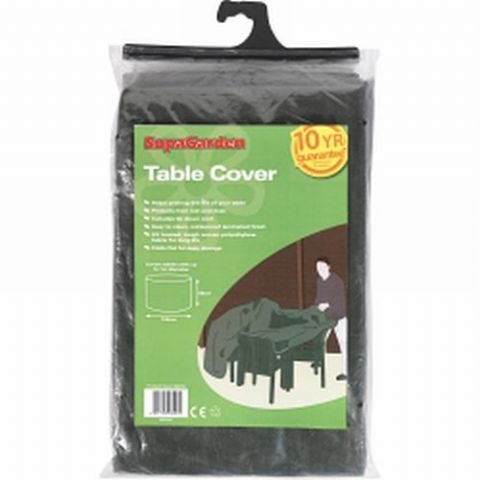 Garden Table & Chairs Cover Bistro Size - 10 Year Guarantee